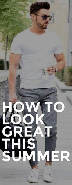 How To Look Smart This Summer #MensFashionStyle –