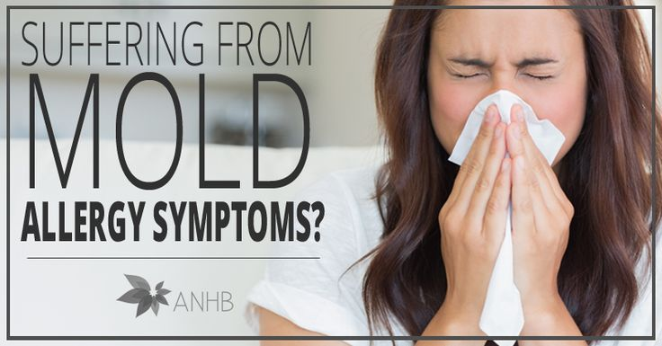 Suffering from Mold Allergy Symptoms? | All Natural Home and Beauty