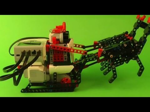 Santa Claus's Sleigh model for LEGO® Mindstorms® EV3 with step-by-step buliding instruction.