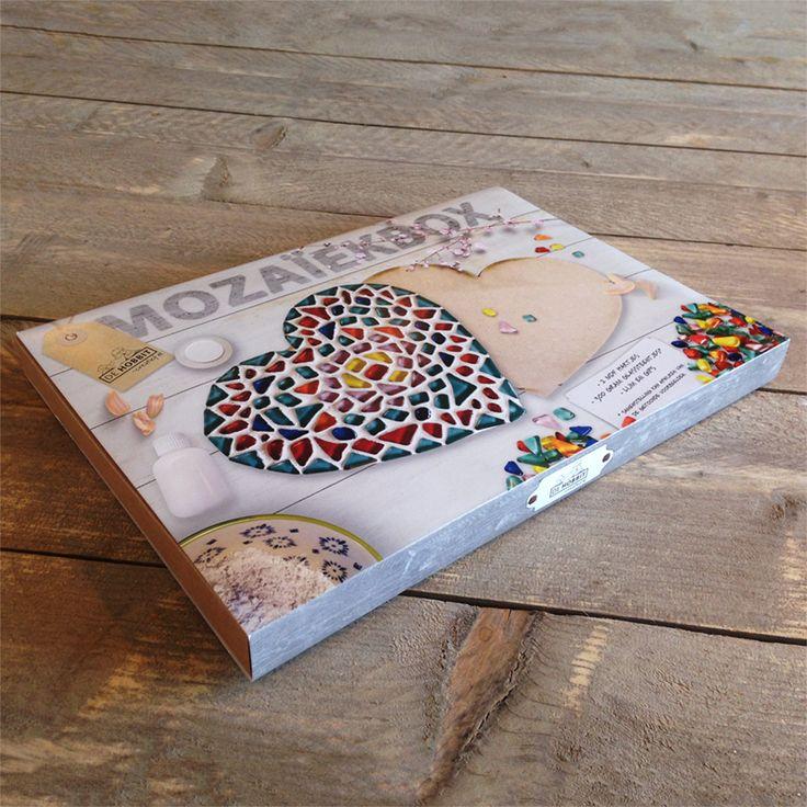 Mozaiekbox met 2 harten nu te koop in onze webshop!