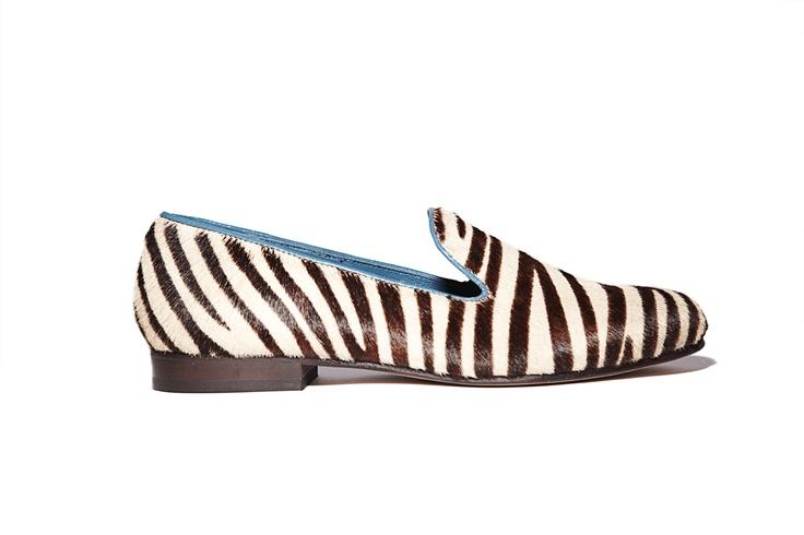 Cb zebra slippers