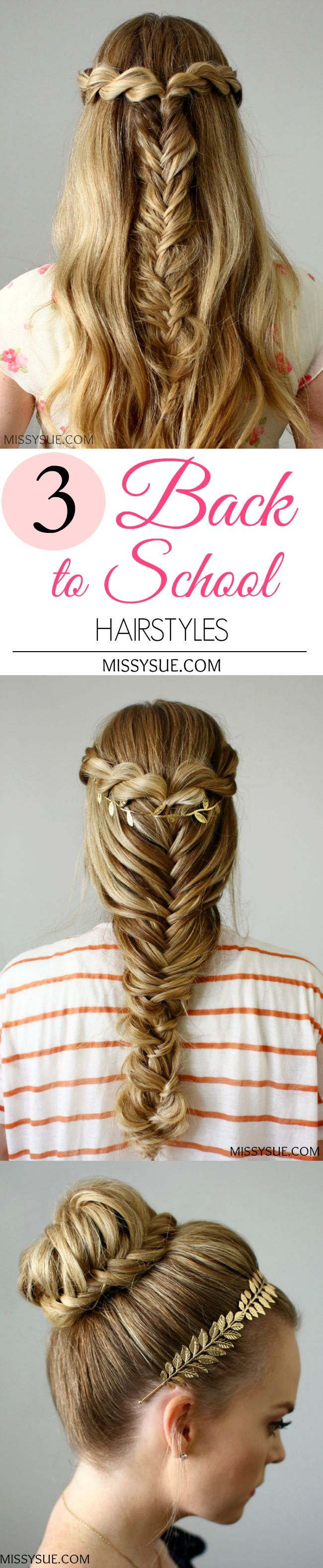 130 best Back to School Hair images on Pinterest