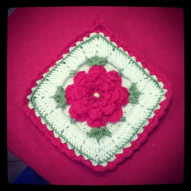 Presina all'uncinetto - crochet potholder