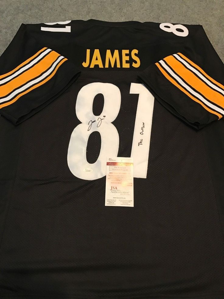 best service a6263 5f4d6 pittsburgh steelers jersey jesse james