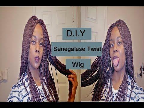 ThatGalRei  DIY Crochet Senegalese Wig, Crochet Cap  First Try Beginners Luck - YouTube