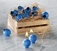 blueberry candles... love these