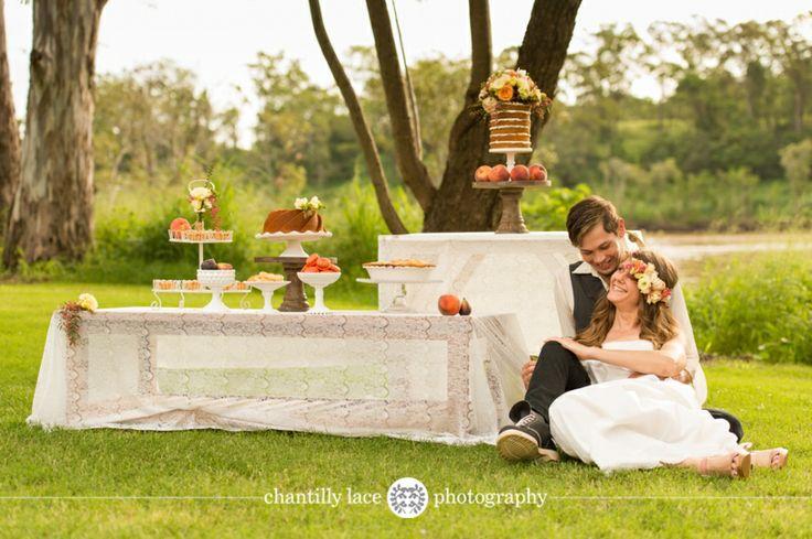 Bohemian Love ~ Published Brisbane Wedding Photographer - Queensland Brides Magazine - www.chantillylacephotography.com.au