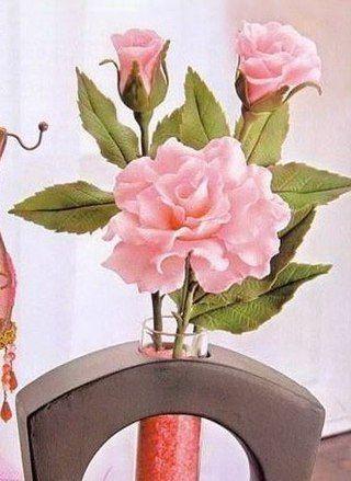 ● FlowerFoam ● Цветы из фоамирана/ревелюра ● | VK