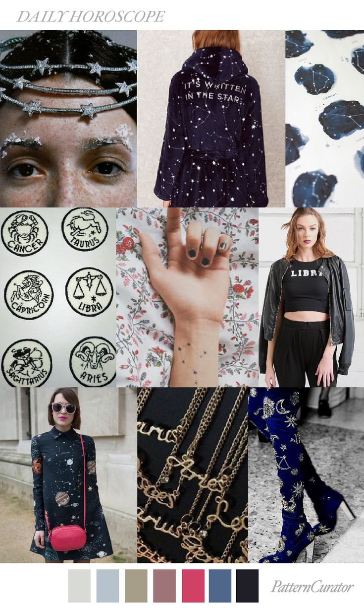 DAILY HOROSCOPE by PatternCurator #FW18