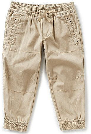 Ralph Lauren Childrenswear Little Boys 2T-7 Canvas Jogger Pants
