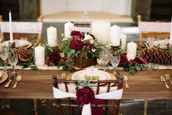 Rustic Red Wedding