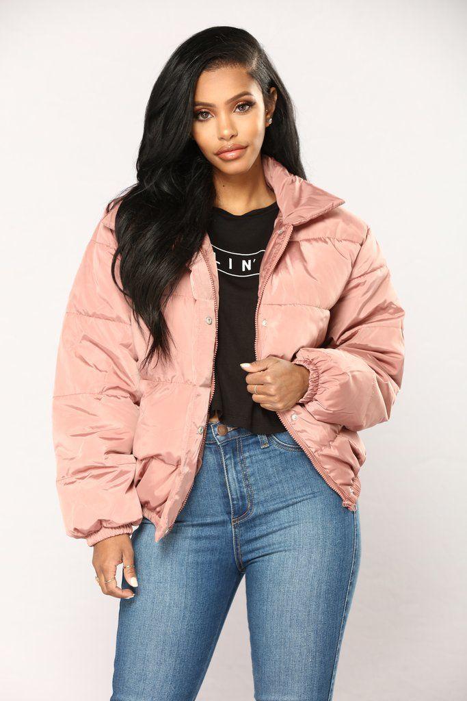 Camila Puffer Jacket - Mauve | Fashion Nova | Outerwear ...