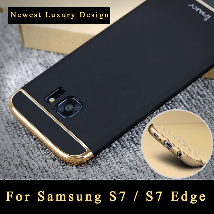 s7 case Original ipaky brand back cover For Samsung galaxy s7 case Luxury Silm 3 IN 1 PC cover For Samsung s7 G9300 case 5.1""