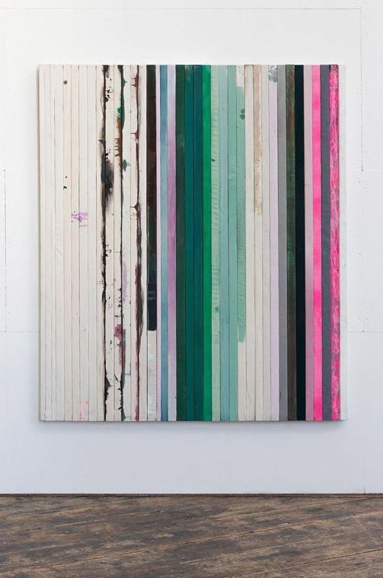 "nicecollection: "" Dejan Dukic - Storage Painting Nr.14, 200 cm x 169 cm, Wood, Canvas, Acryl, Fluid Pigment and Oil, 2012 """