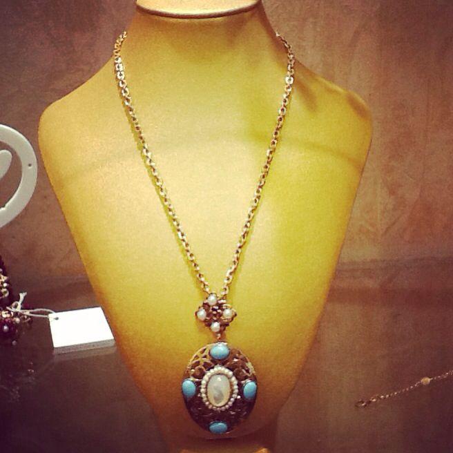 #amelie #bijoux #necklace #silver #brass #vintage #retro #stiyle #fashion #TEKAGIOIELLI #moladibari #followme