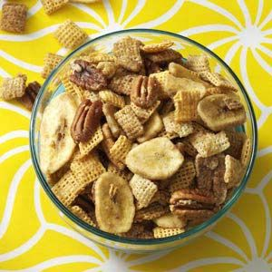 Bananas Foster Crunch Mix Recipe from Taste of Home -- shared by David Dahlman of Chatsworth, California