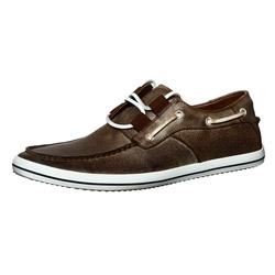 Steve Madden Men's Welinton Suede Boat Shoes (Brown)