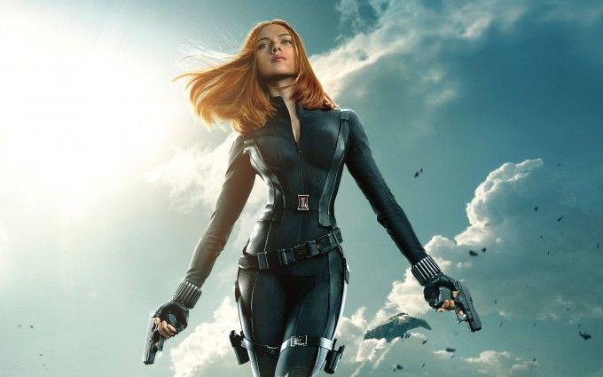 Scarlett Johansson in Captain America Free HD Wallpapers HQ