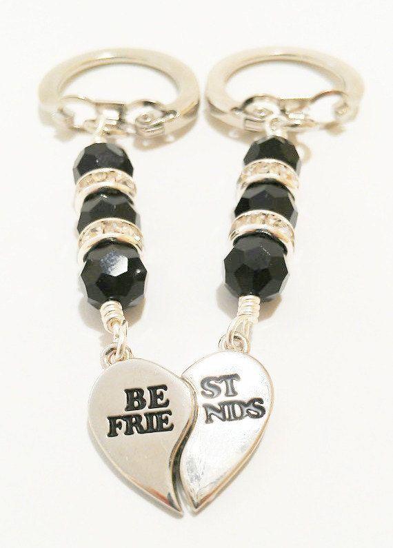 Best Friends Keychain / Best Friends by VickysLittleSecrets, $12.50