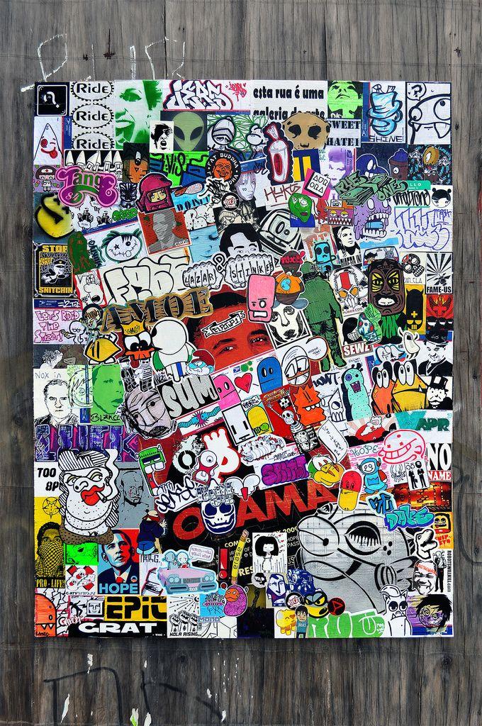 Stickers b0mb