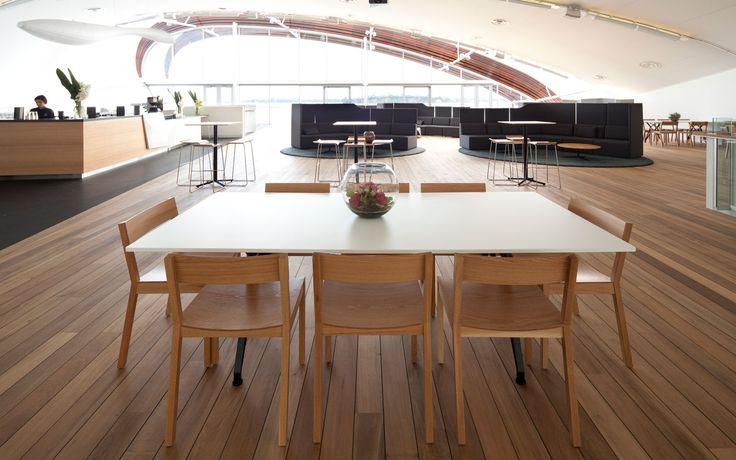 Hawk Chairs & Foundation Sofa by Simon James  @ The Cloud