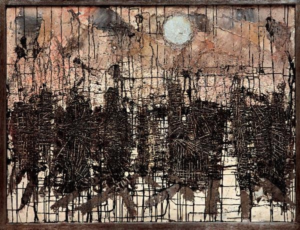 One of my favorite William Congdon paintings... 1950 Winter Morning