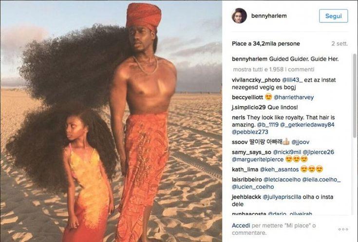 Padre e figlia, stessi capelli:  sono il nuovo fenomeno virale