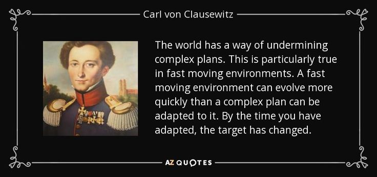 TOP 25 QUOTES BY CARL VON CLAUSEWITZ (of 161) | A-Z Quotes