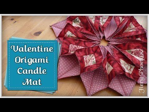 Valentines Origami Candle Mat :: Tute