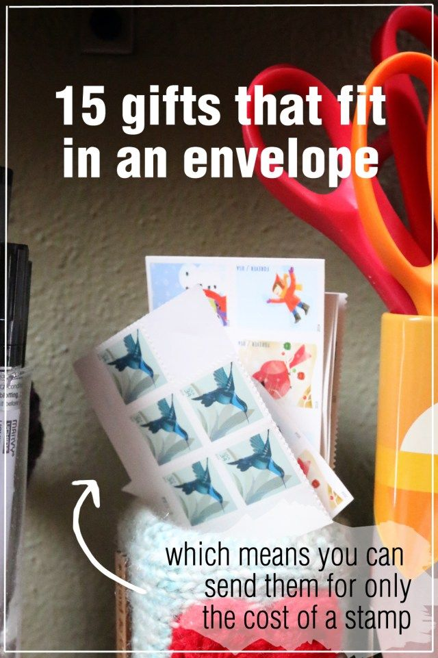 Great Gifts That Fit In Envelopes Mail Gifts Envelope Hobbies To Try