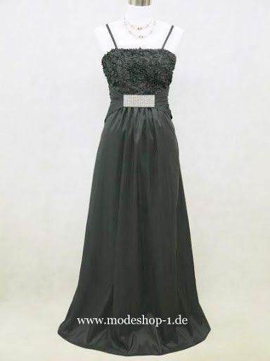 Abendkleid Kusadasi Lang in Schwarz