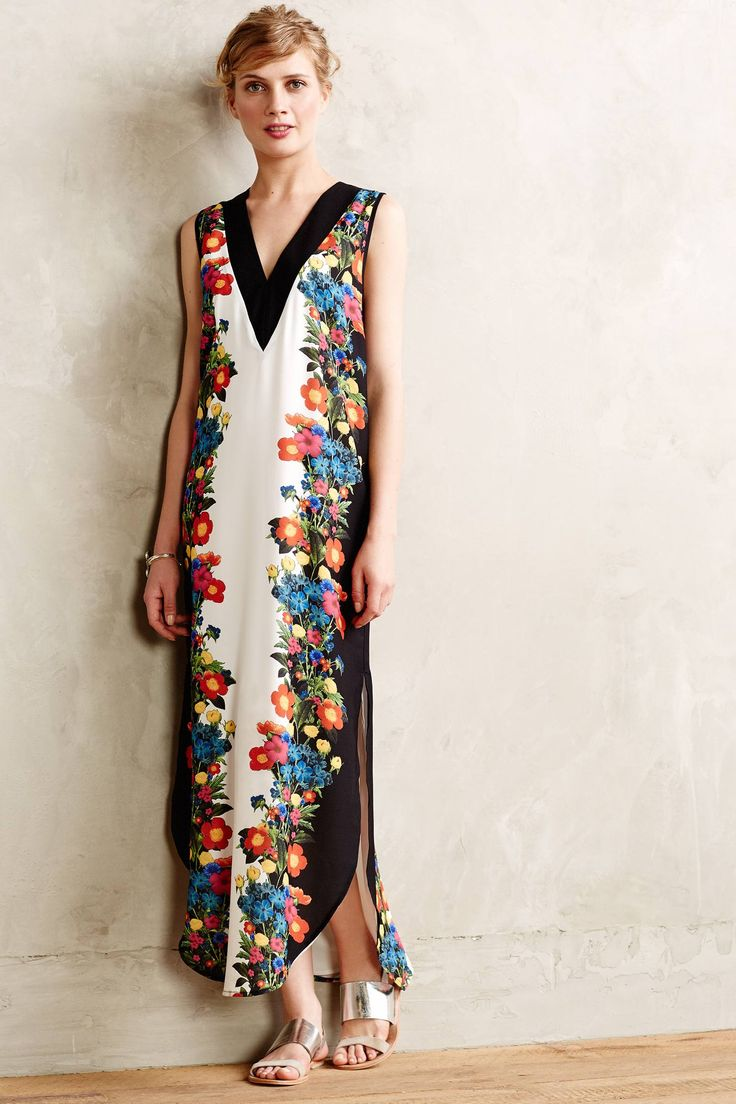 Giroflee maxi dress my style for Anthropologie mural maxi dress