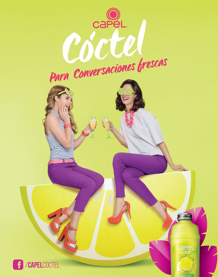 Capel Cóctel - Conversemos on Behance