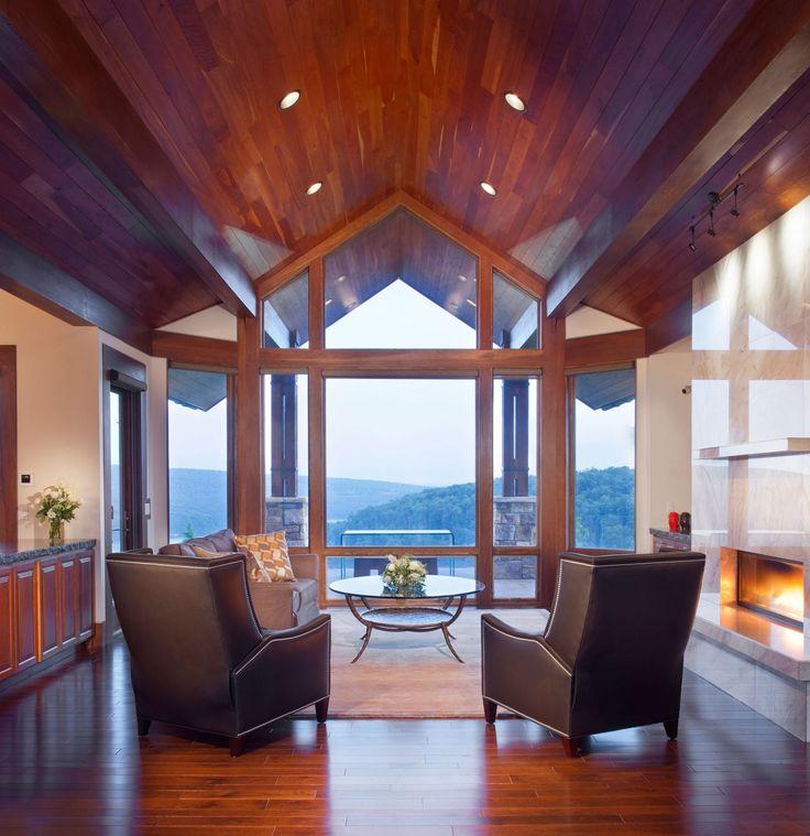 WISP RETREAT AT DEEP CREEK LAKE | Charles Cunniffe Architects