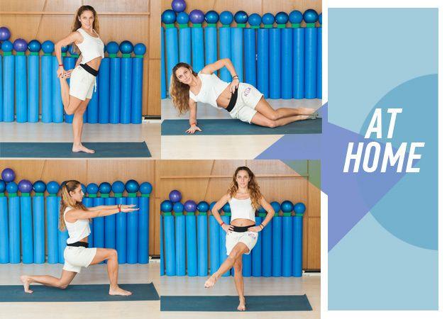 ΓΥΜΝΑΣΤΙΚΗ ΣΤΟ ΣΠΙΤΙ: Πέντε απλές ασκήσεις για σούπερ γραμμωμένα πόδια