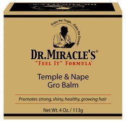 Dr. Miracle's Feel It Formula Temple and Nape Gro Balm, 4 Ounce by Dr. Miracle's. $8.19. My Dr. Miracle's temple and nape gro balm is my prescription to help promote growth in the temple and nape areas.