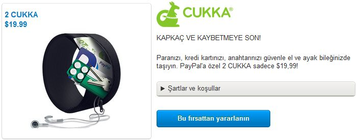 KAPKAÇ VE KAYBETMEYE SON! PayPal ile kargo bedava kampanyası sürüyor.