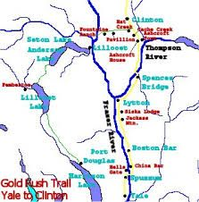 map of fraser river