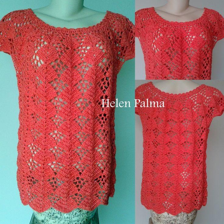 Top / Regata crochet encomendas hcpalma@gmail.com