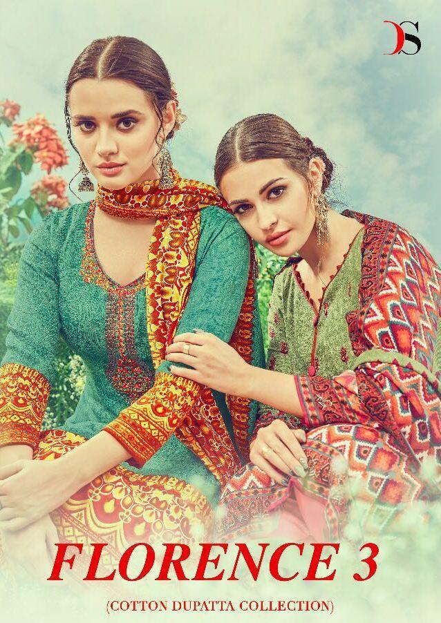 ea9e37b4bd Deepsy Florence vol-3 Pure Cotton Print suit (8pc catalog ...