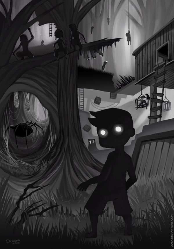 I really liked this game atmosphere. Too bad this game is so short T^T . . . -------- Limbo © Playdead -----------------------