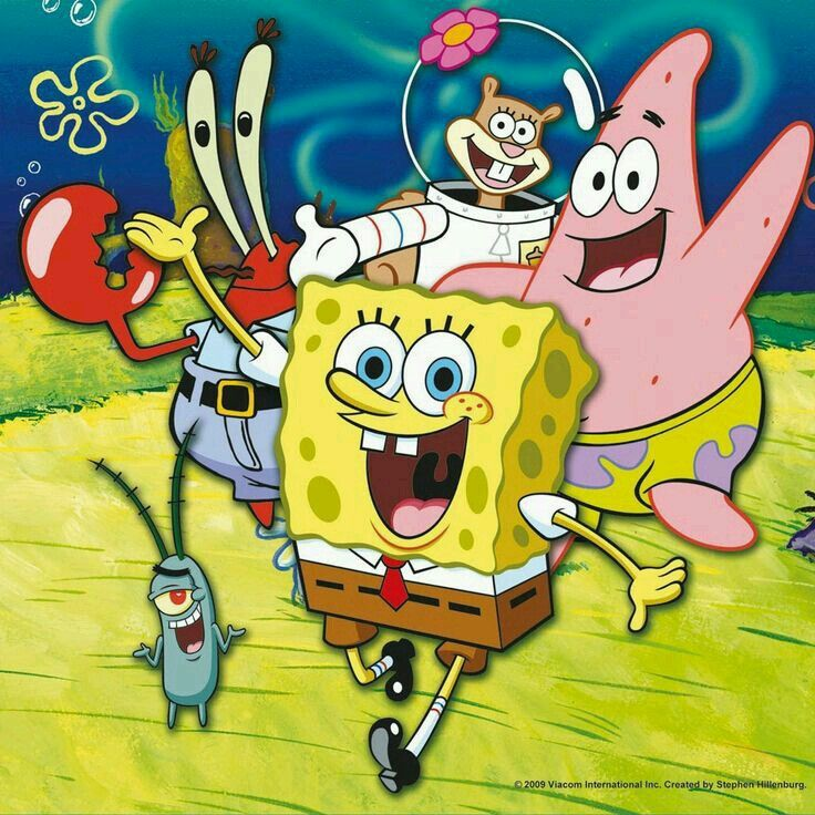 سبونج بوب Cute cartoon wallpapers, Spongebob party
