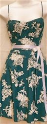 $44 Easter Dresses for Women 2013! Vintage BLUE ROSES DOT Easter Dresses for juniors, misses and plus size women!