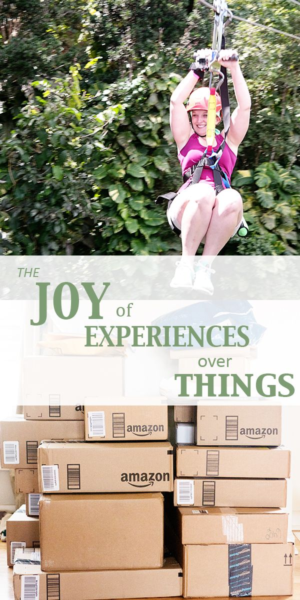 Best 20 experience gifts ideas on pinterest creative for Minimalist living decluttering for joy health and creativity