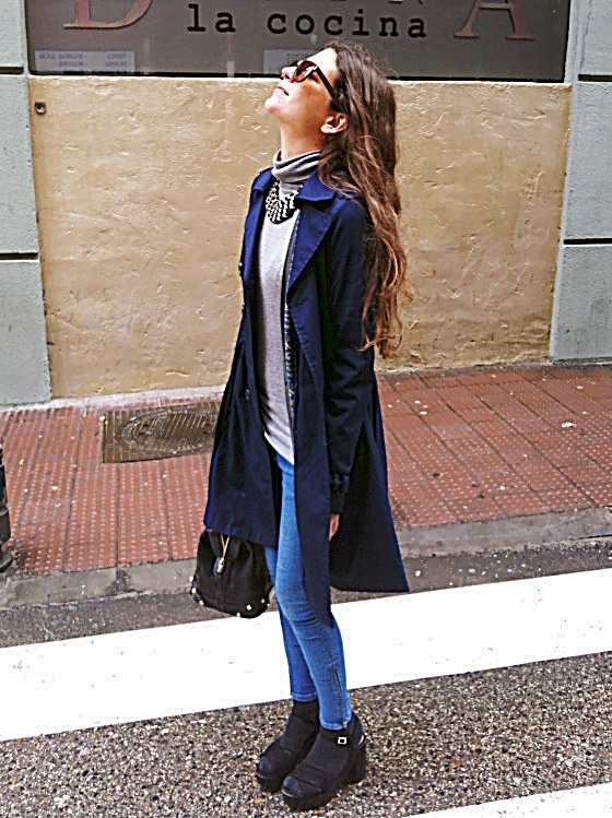 #newlook #postup #look #lookzara #trench #gabardina #azul #hym #picoftheday #zara #platforms #sensitivetobeauty #streetstyle #rockstyle #lorimeyers #planilandia www.sensitivetobeauty.wordpres.com