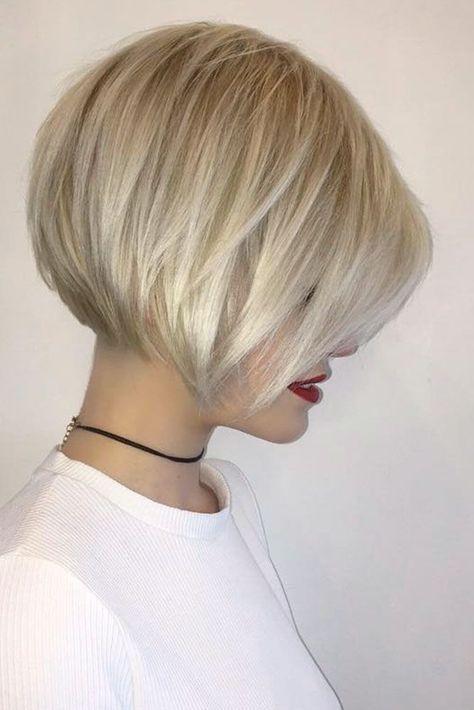Nouvelle Tendance Coiffures Pour Femme 2017 / 2018 Image Description 19 Styles chic et tendance pour les coupes de cheveux modernes Bob pour les cheveux fins Les coupes de cheveux Bob sont toujours populaires.