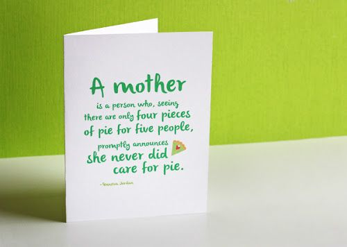 Printable Mothers Day card | How About Orange