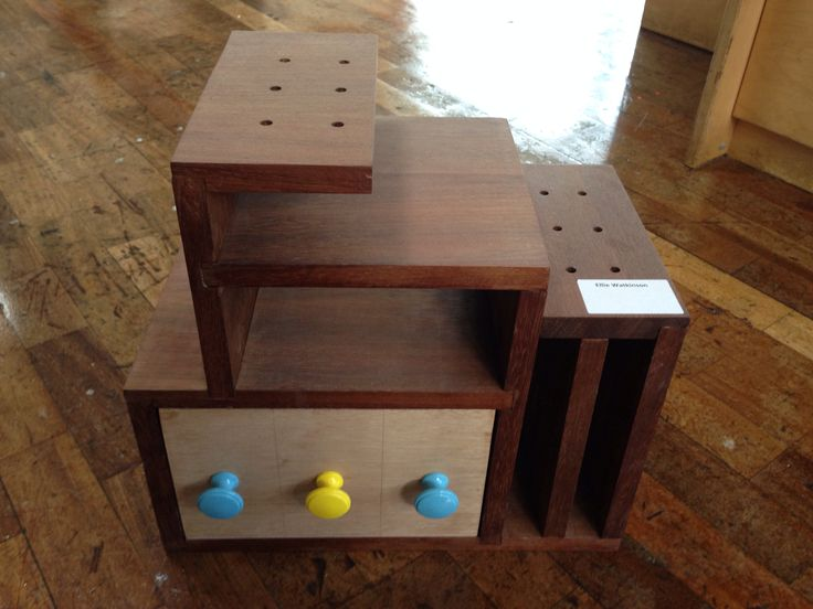 Memphis Styled Small Storage Y11 Gcse Product Design Pinterest And