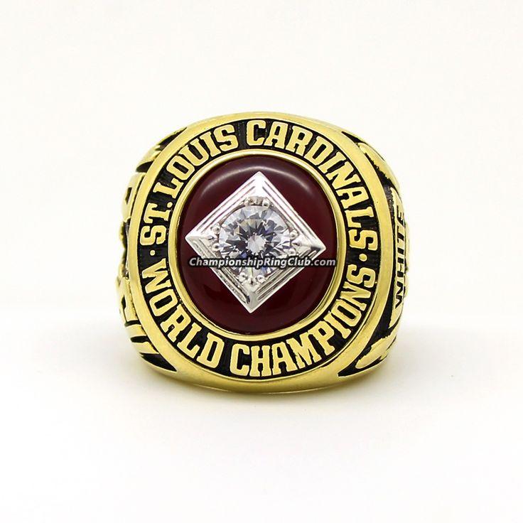 1964 St. Louis Cardinals World Series Championship Ring - www.championringclub.com