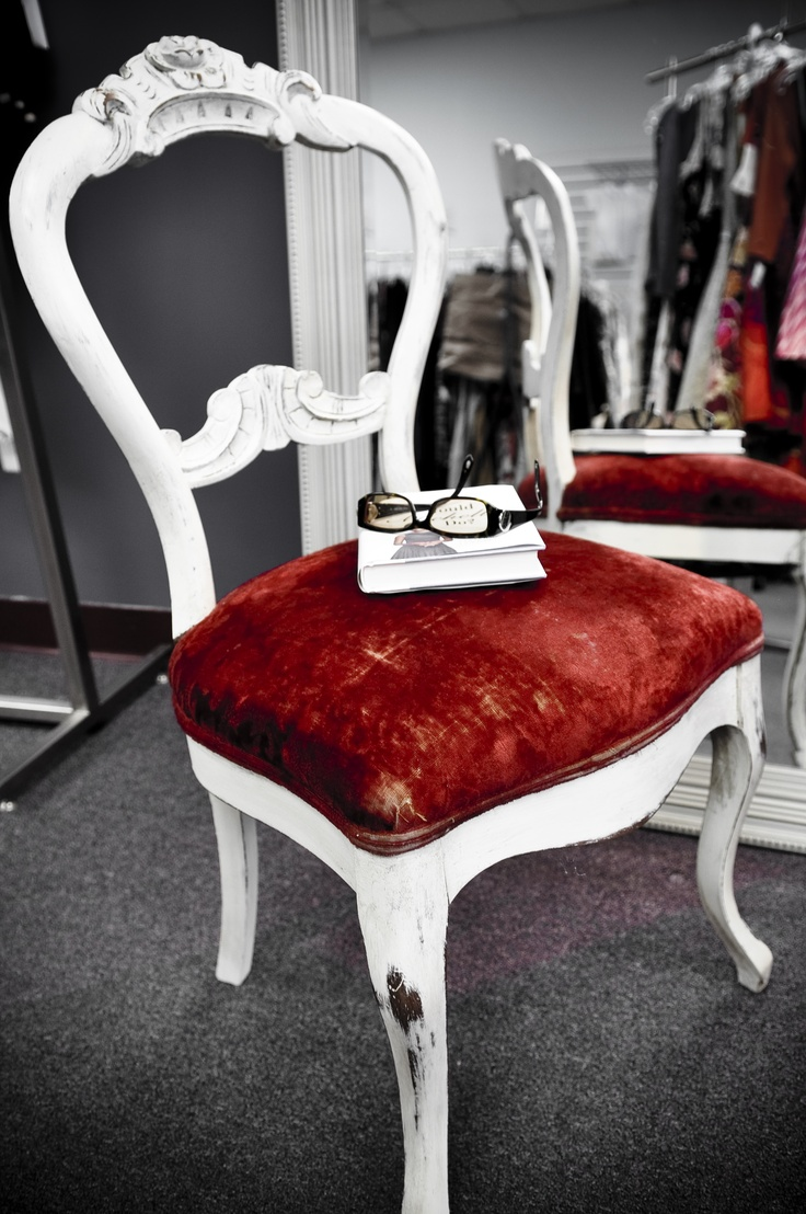 hand painted chair..custom done for Onthepurplecouch.com. Chalk Paint (tm) old white and provence $90.00- sold